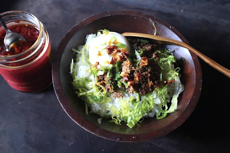 野菜たっぷりの肉味噌