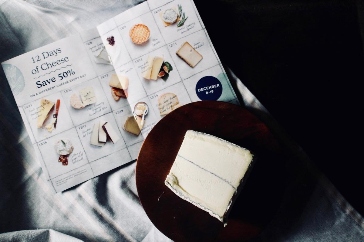 クリスマスアドベントとホリデー用チーズ