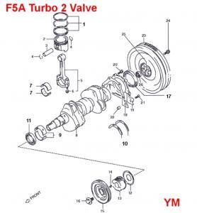 Suzuki Engine Internal Components