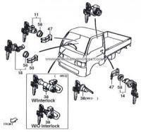 Ignition & Door Lock Components JDM Vehicles