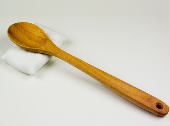 cuchara descansando