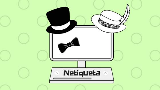 Netiqueta, reglas de buena educación online