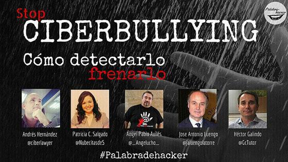 Ciberdebate sobre Ciberbullying en el canal Palabra de hacker.