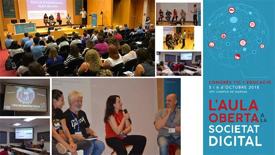 Congreso TIC y Educación celebrado en Valencia