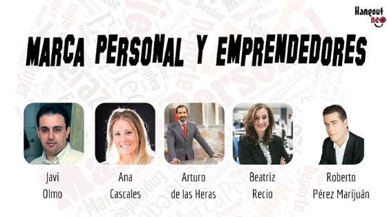 Cibermesa marca personal y emprendedores en el cibermaratón de HangoutNEO