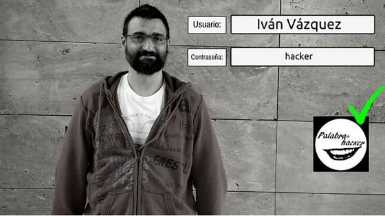Iván Vázquez, entrevista en el canal Palabra de hacker.