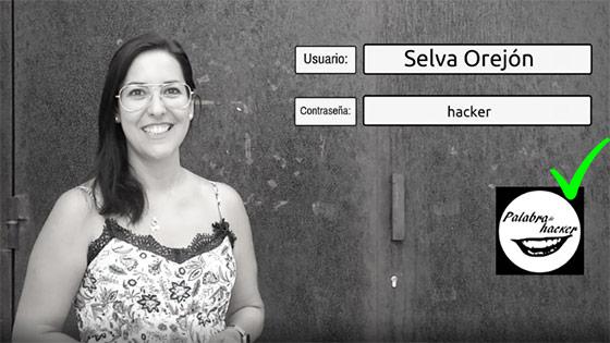 Selva Orejón entrevista en el canal de ciberseguridad Palabra de hacker
