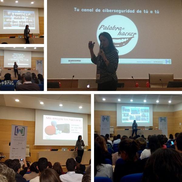 Women TechMakers Valencia participación como ponente.
