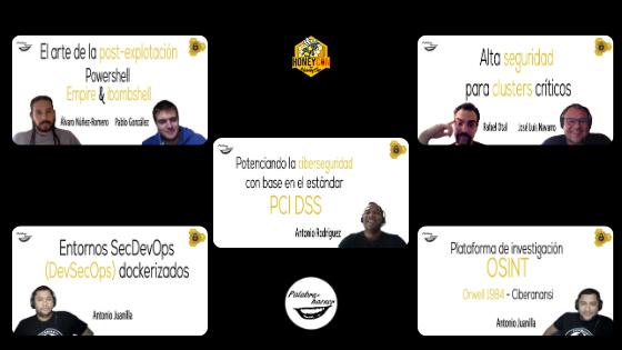 Recopilación de los diversos talleres de ciberseguridad ofrecidos en HoneyCON 20