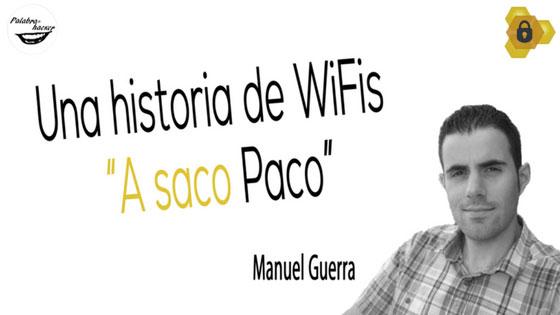 Una historia de WiFis e investigación policial, una charla de Manuel Guerra en HoneyCON