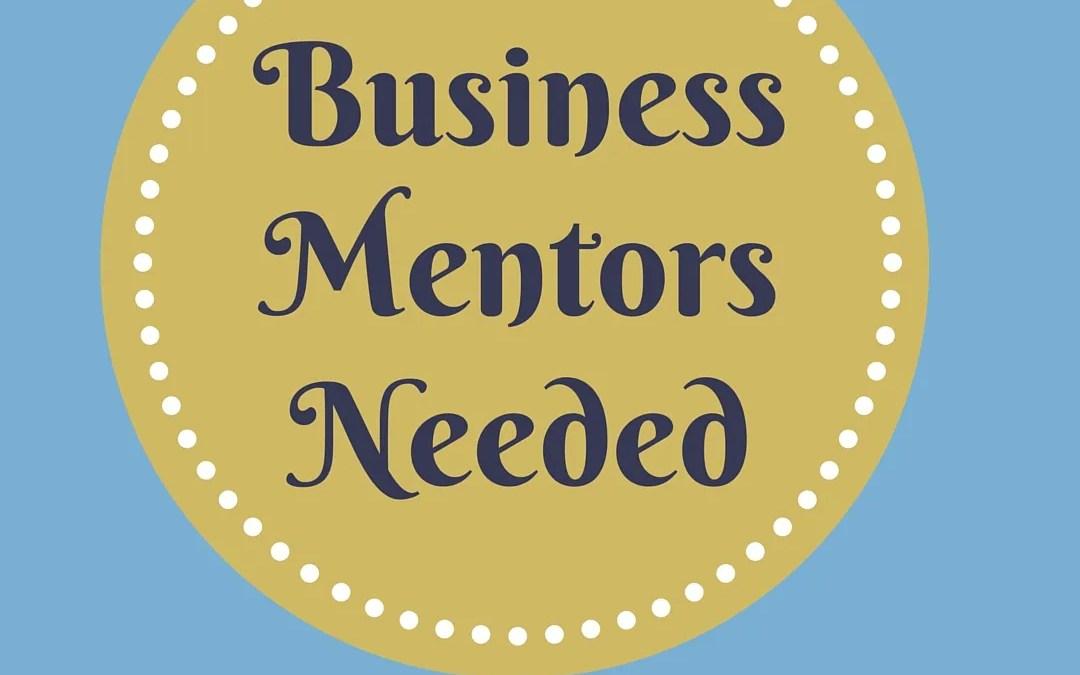 Business mentors needed!