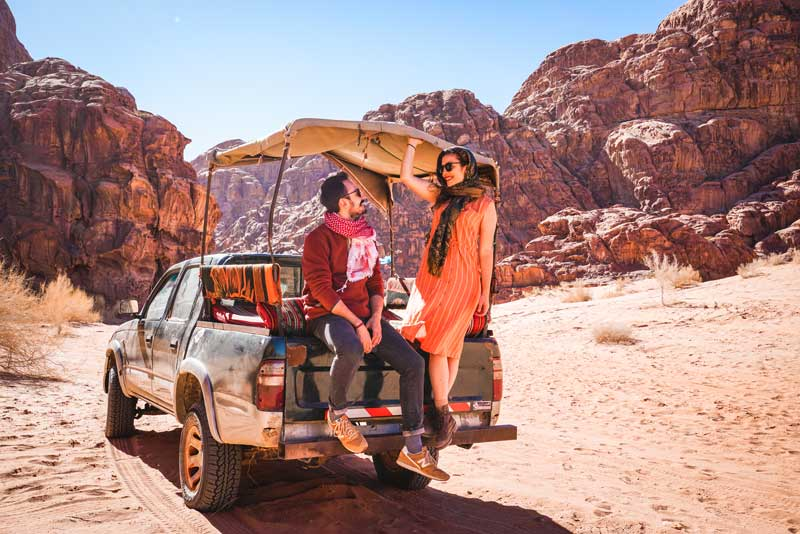 Wadi Rum çöl safarisi