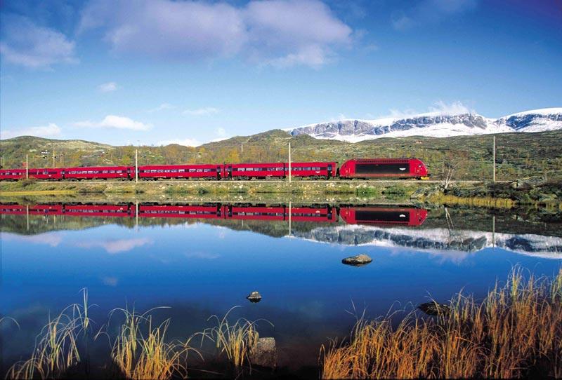 Avrupa'nın en iyi tren rotaları