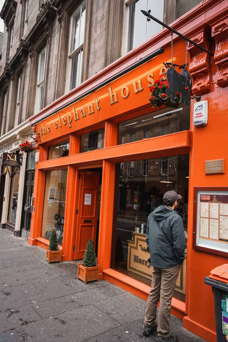 Edinburgh'da gezilecek yerler ve güzel kafeler