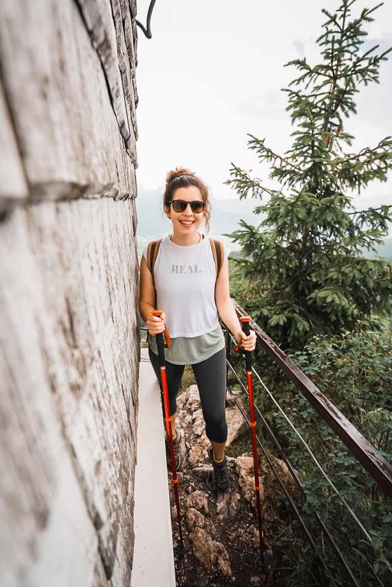 Bavyera'da trekking rotası