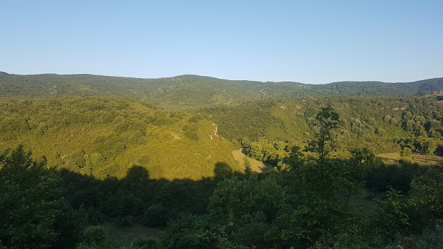 Hacıllı köyünden manzara