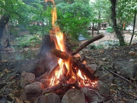 Erikli Yaylası kamp ateşimiz