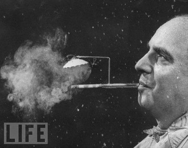 15. Nuo lietaus saugantis cigaretės laikiklis
