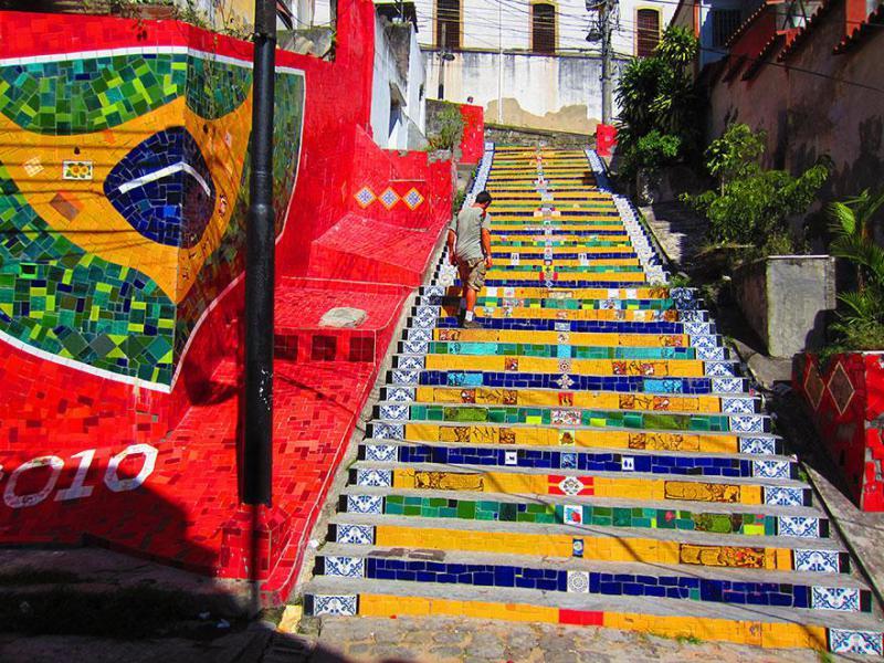 16. Rio de Žaneiras, Brazilija.