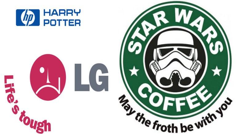 Logotipų parodijos