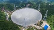 Didžiausias pasaulyje radijo teleskopas/Nuotr. www.news.cn