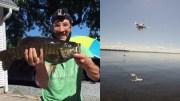 Dronu sugavo žuvi