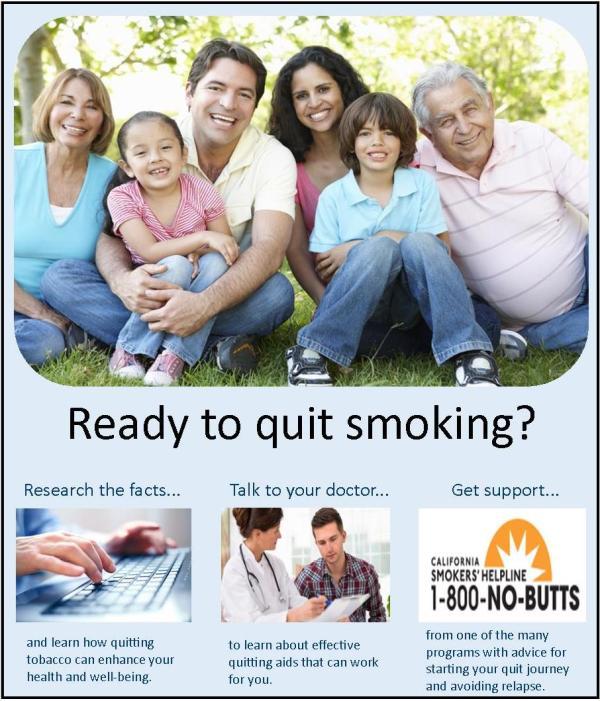 Tobacco Cessation Yolo County