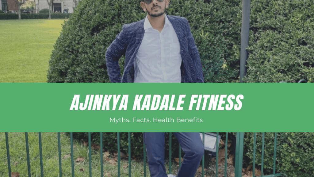 """Get Your facts right! - says, the emerging fitness icon from Navi Mumbai, """"Ajinkya Kadale"""""""