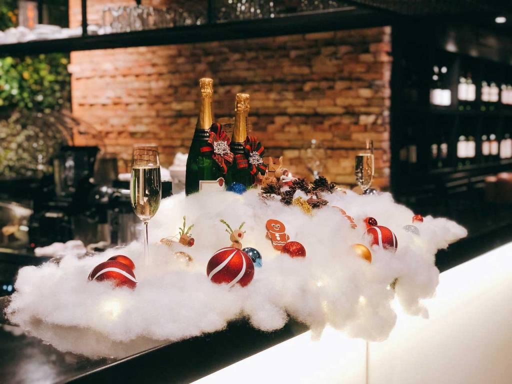 Botellas Decorativas para Mesas de Comedor Navideñas