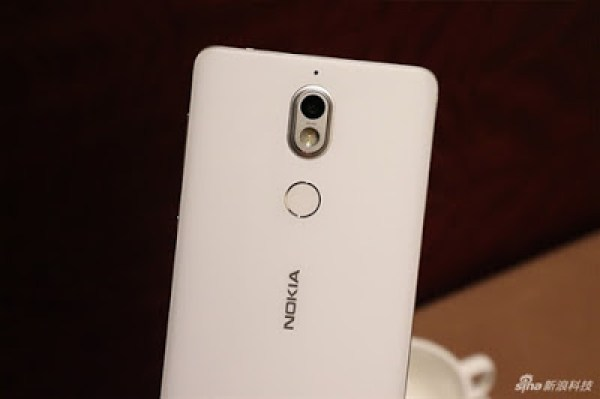 Nokia 7 back glossy design