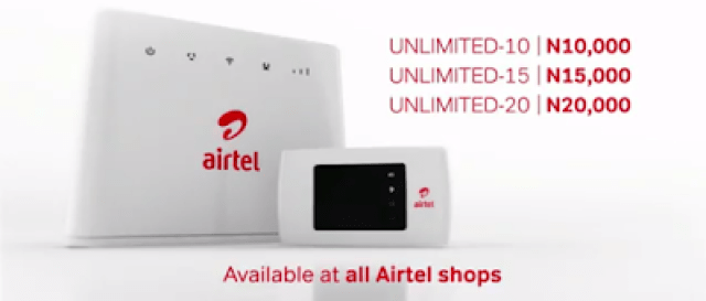 airtel unlimited data plans