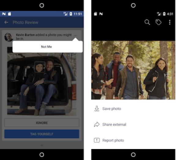 facebook facial recognition technology