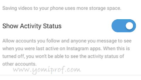 how to turn off instagram last seen