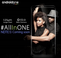 Infinix Note 5 Stylus Coming Soon to Android One Project
