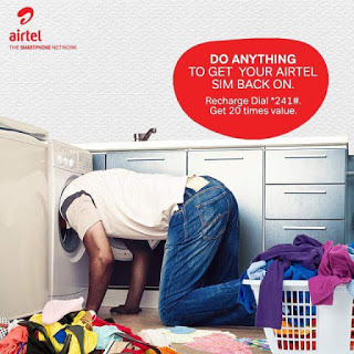 Don't Forget Airtel 20x... Recharge N100, Get 1.5GB + N500 for Calls