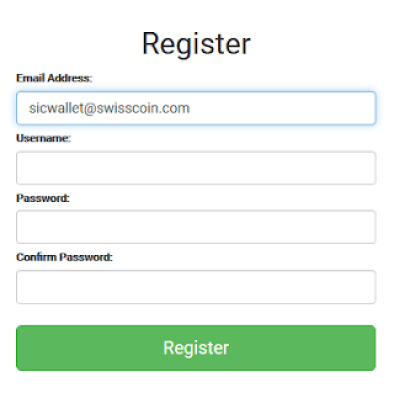 how to register on coinexchange