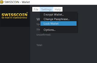 unlock your offline wallet