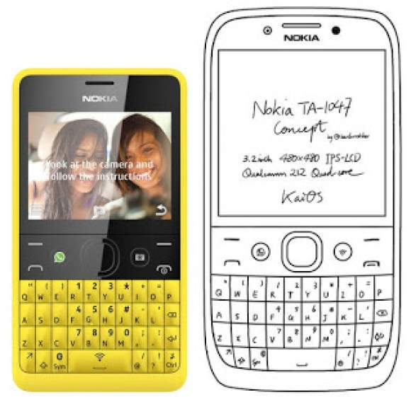 nokia E71 feature phone with support for 4G LTE