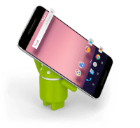 android hanging