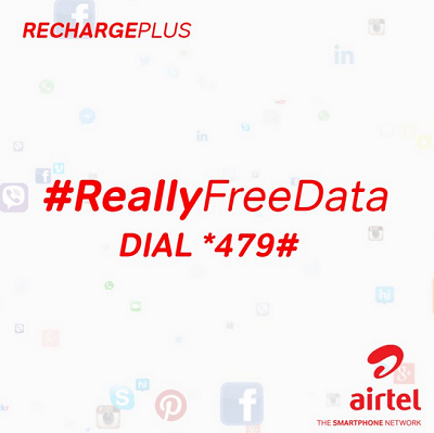 Airtel RechargePlus - How it Works - Free 1GB data