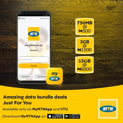 MTN Introduce New Cheap Data Plans + Free 4GB Data