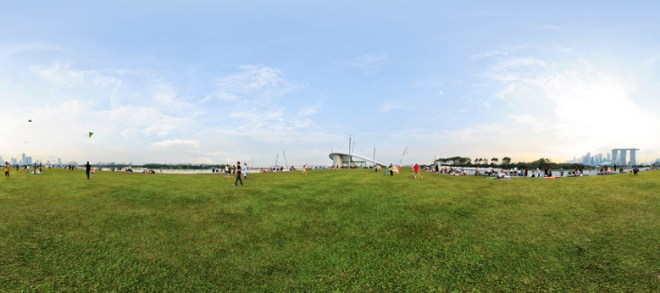 Marina barrage Virtual tour