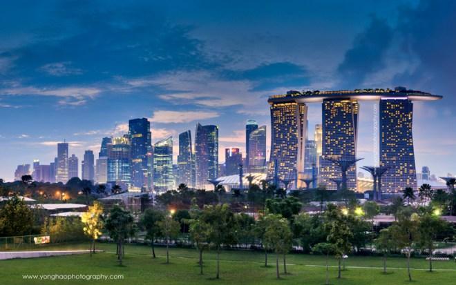 panoramic skyline