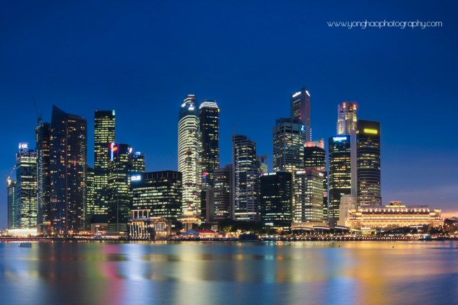 CBD Area cropped from Skyline By Yonghao Photography