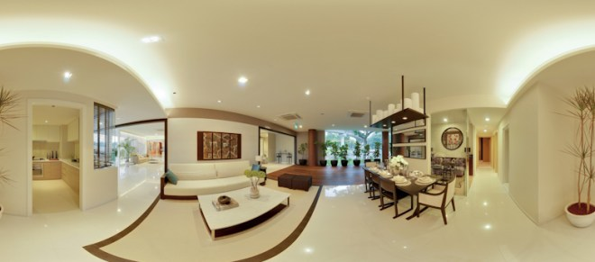 UEL Austville EC showflat virtual tours - living room 2 by YongHao Photography