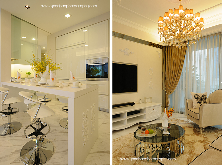 Modern classic by ej square yonghao photography for Hae yong interior designs