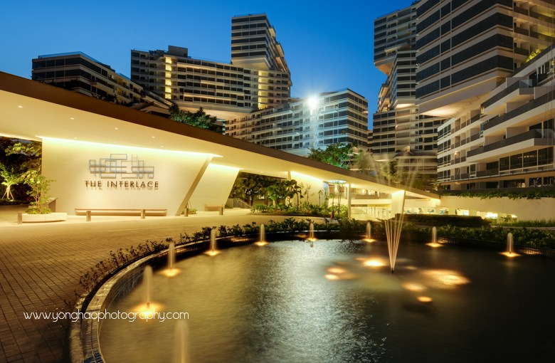 Architectural Photography: Interlace Condo for Woh Hup