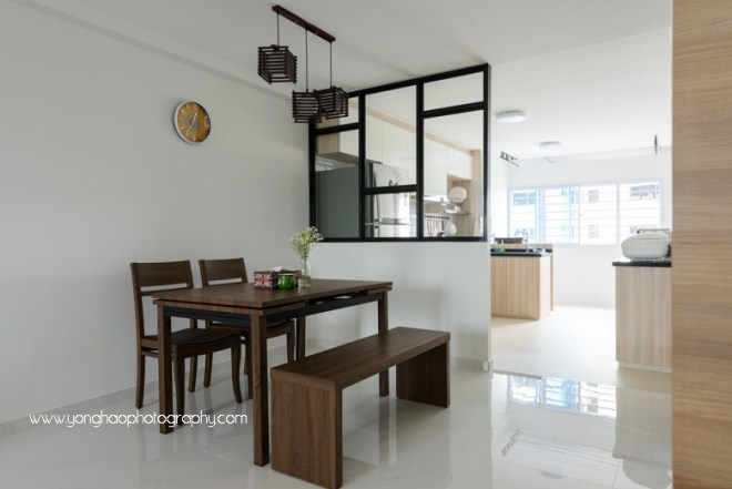 yonghao photography, interior photography, dining area, hdb, 1.01 interior design, photography services, singapore
