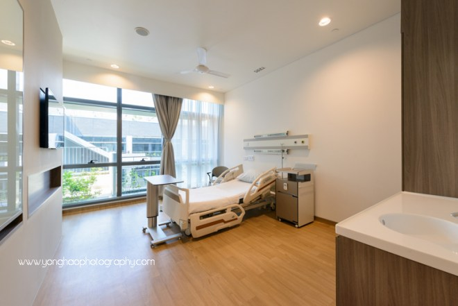 yishun community hospital, yonghao photography, interior photography, hospital photography, singapore photography, photography services