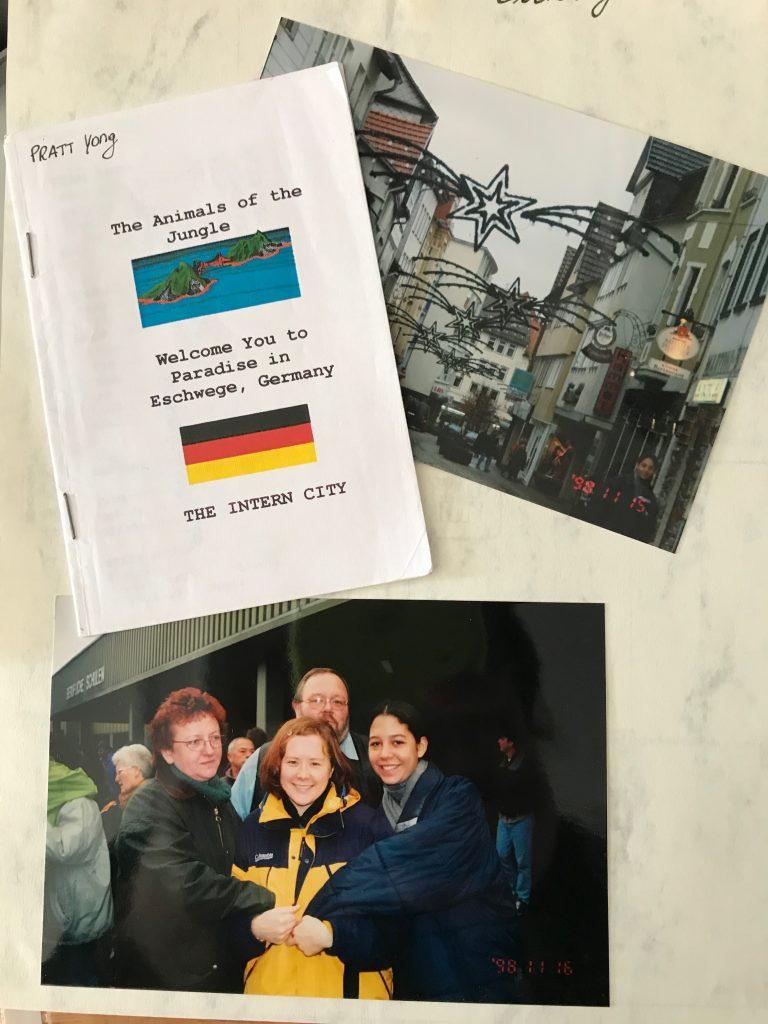 Yong Pratt - Up with People Cast B 1998 - Eschwege, Germany